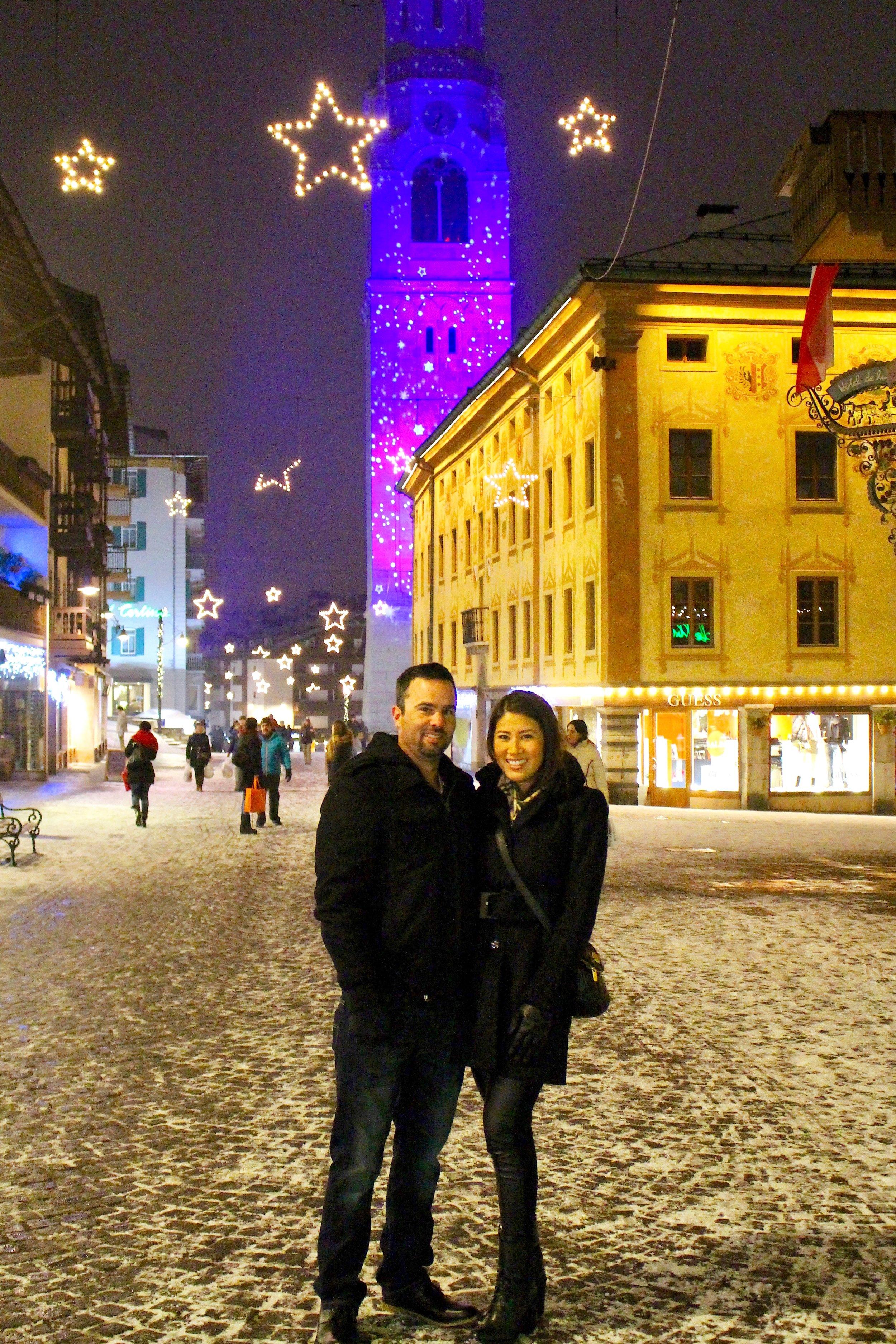 January 2015- Cortina d' Ampezzo: Honeymoon