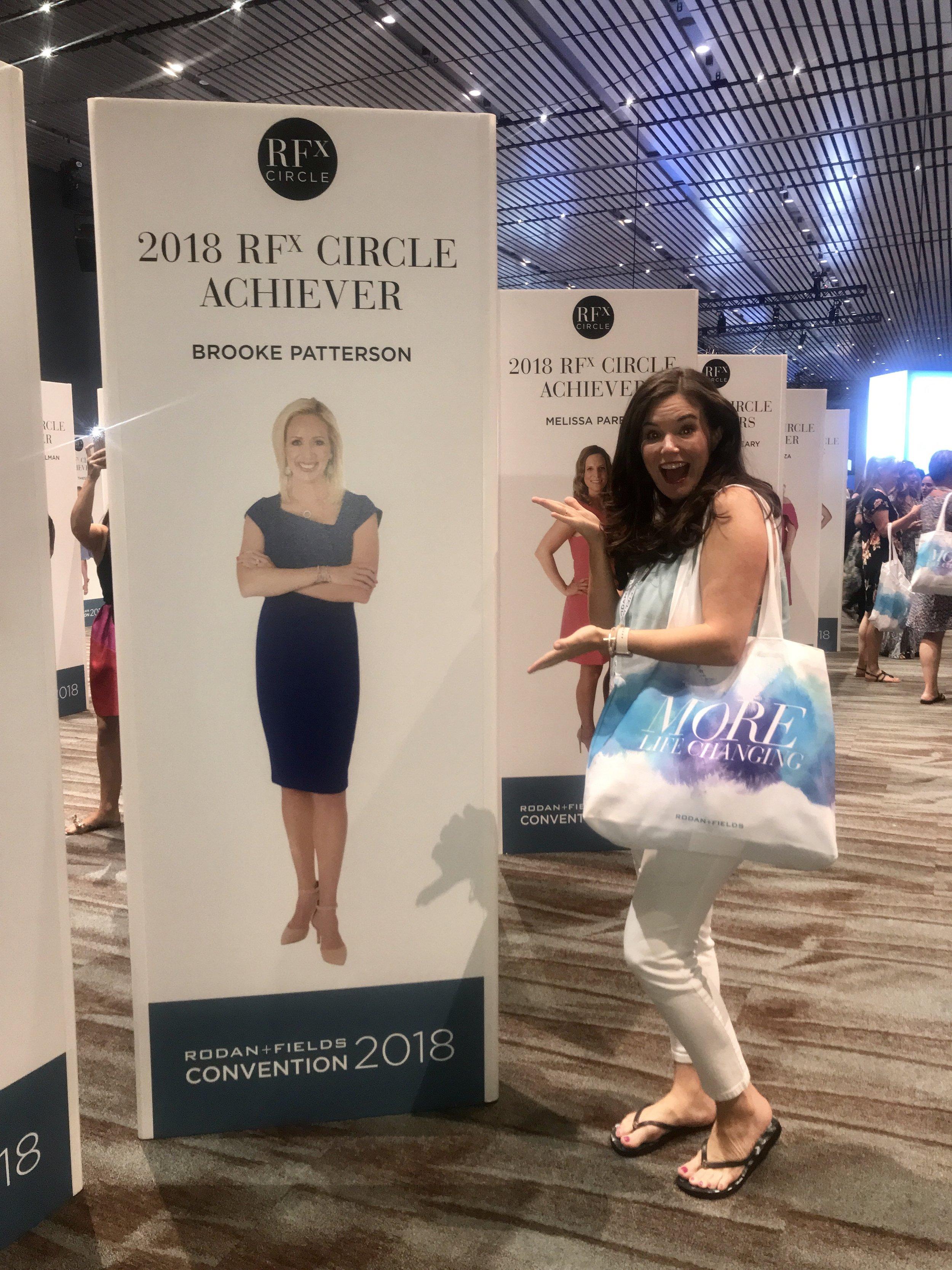 Rodan + Fields Convention - RFx Circle Achiever Brooke Patterson and photographer Kassady Gibson