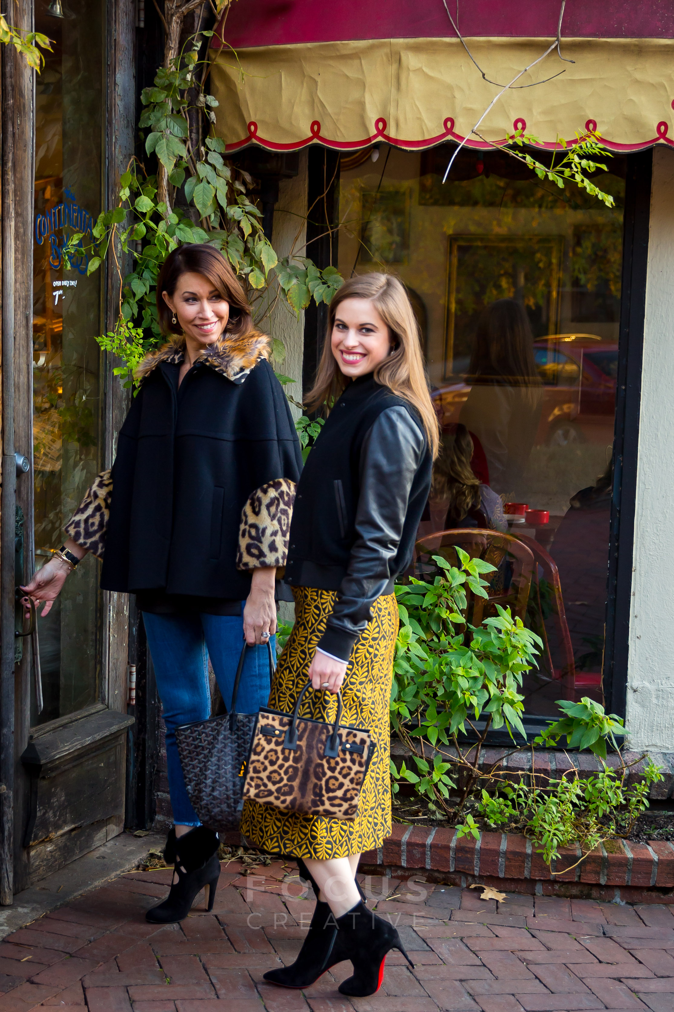 Mother-daughter team, Alison Bruhn and Delia Folk, visit the Continental Bakery like they used to every morning before school when Delia was a little girl.