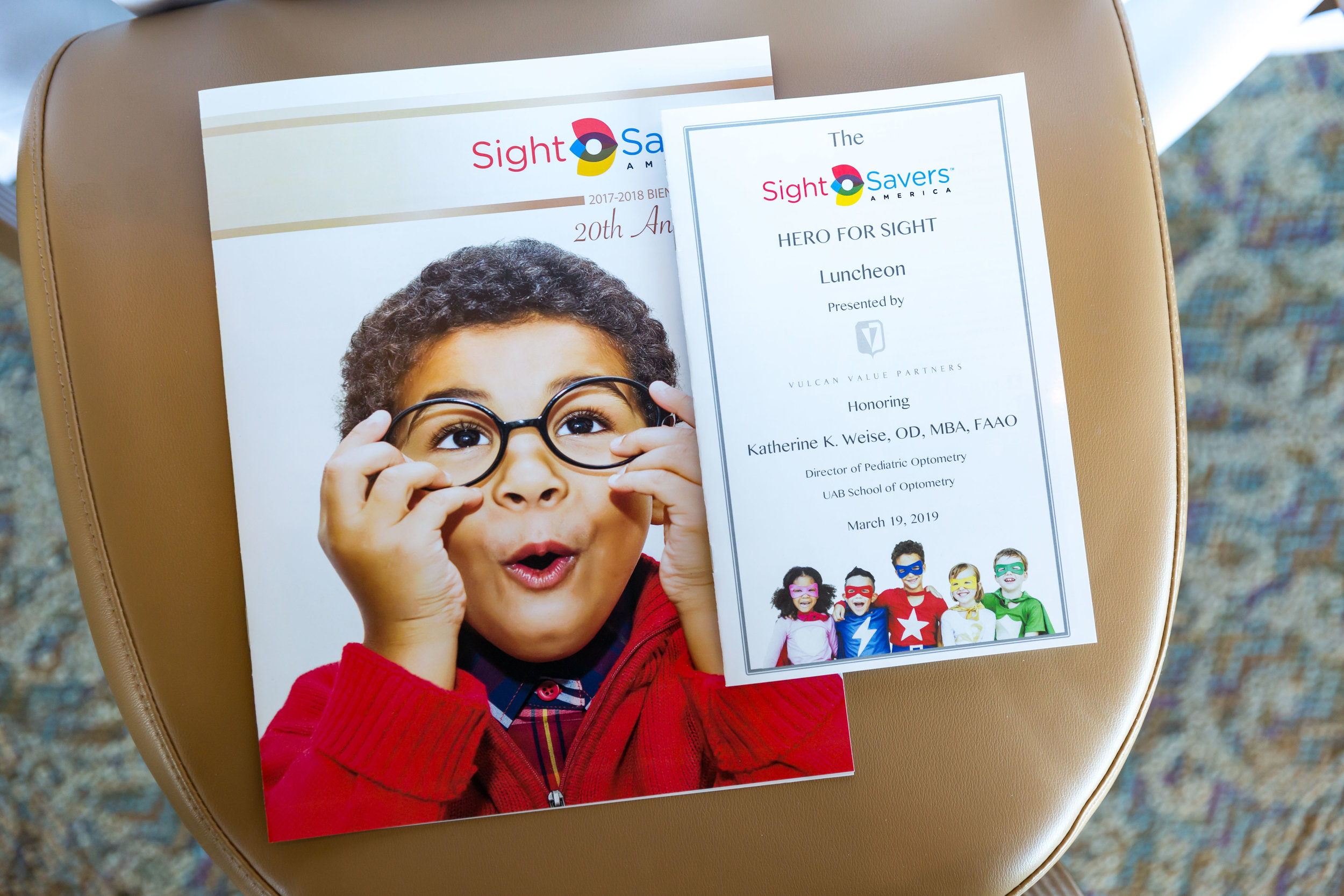 We photographed the annual Sight Savers of America luncheon honoring Dr. Katherine Weise of UAB Eye Center.