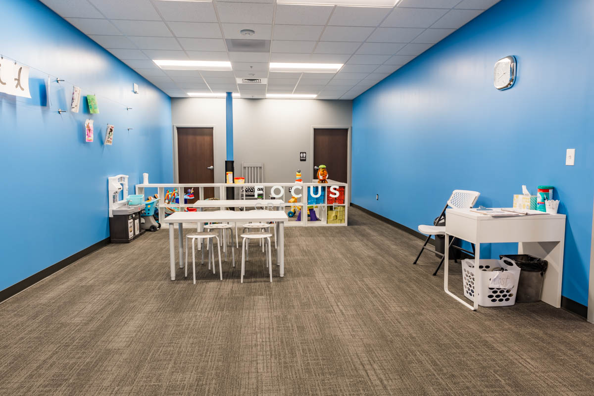 Childcare is available at Burn Boot Camp located in Hoover, Alabama.