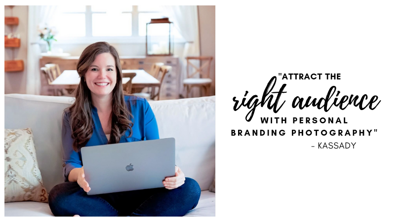 Kassady Gibson is a personal branding photographer located in Birmingham, Alabama and helps businesses create personal branding strategies and images to help individuals connect with their clients on a personal level.
