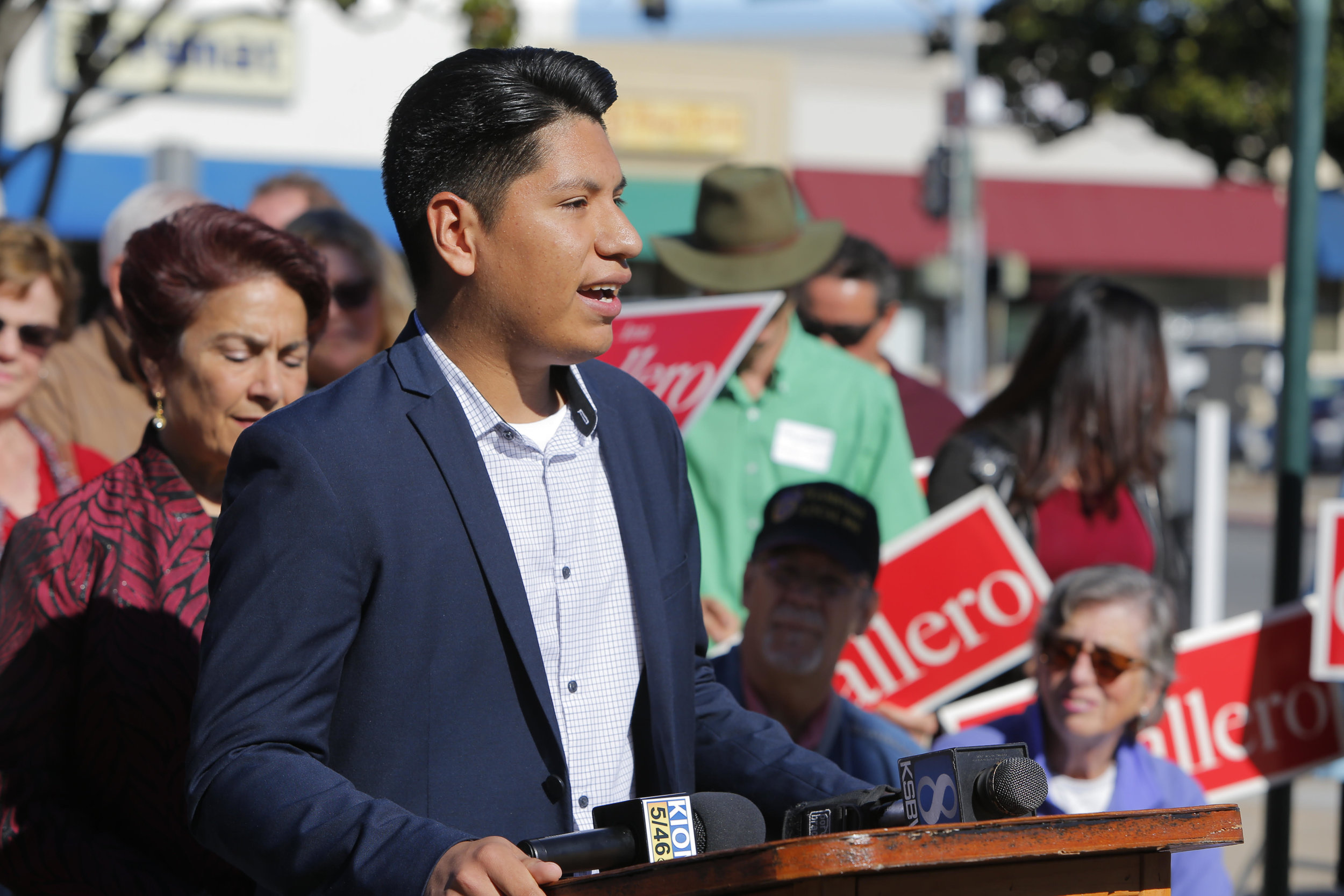 Anthony Rocha for  Salinas Unified High School Board - At 19, Anthony Rocha has already served on multiple city commissions and is dedicated to local government. He aims to give young people a seat at the table by running to be a member of the Salinas Unified High School Board.