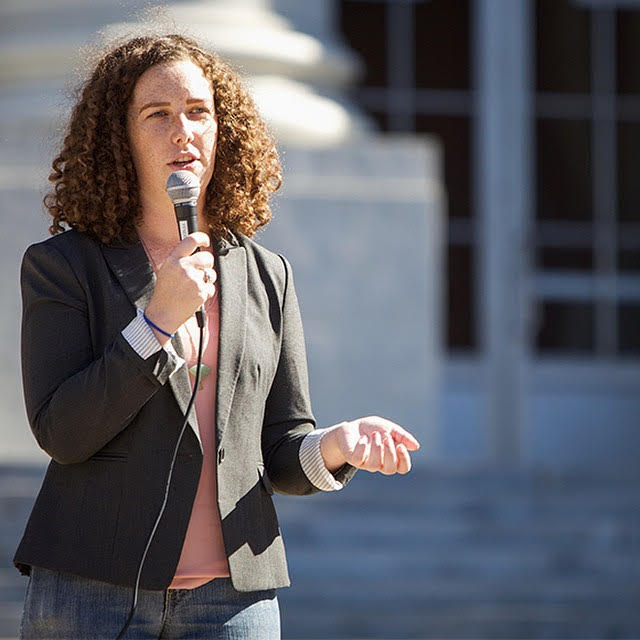 Caitlin Quinn, 25, is running for Petaluma School Board. A former student leader at UC Berkeley and an advocate for survivors of sexual assault, she talks about her passion for education and what's not being addressed in her school district. -