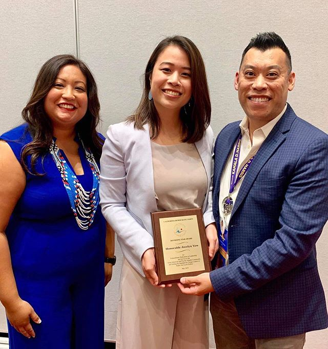 Congratulations to Ballot Breaker @councilmember_yow who received California Democratic Party Asian Pacific Islander Caucus Rising Star Award this past week!  The first Asian American elected to Eastvale City Council, her background as a first gen Asian-American, the daughter of a Chinese-Malaysian immigrant and Vietnamese refugee inform her deep empathy for immigration issues and the AAPI community.
