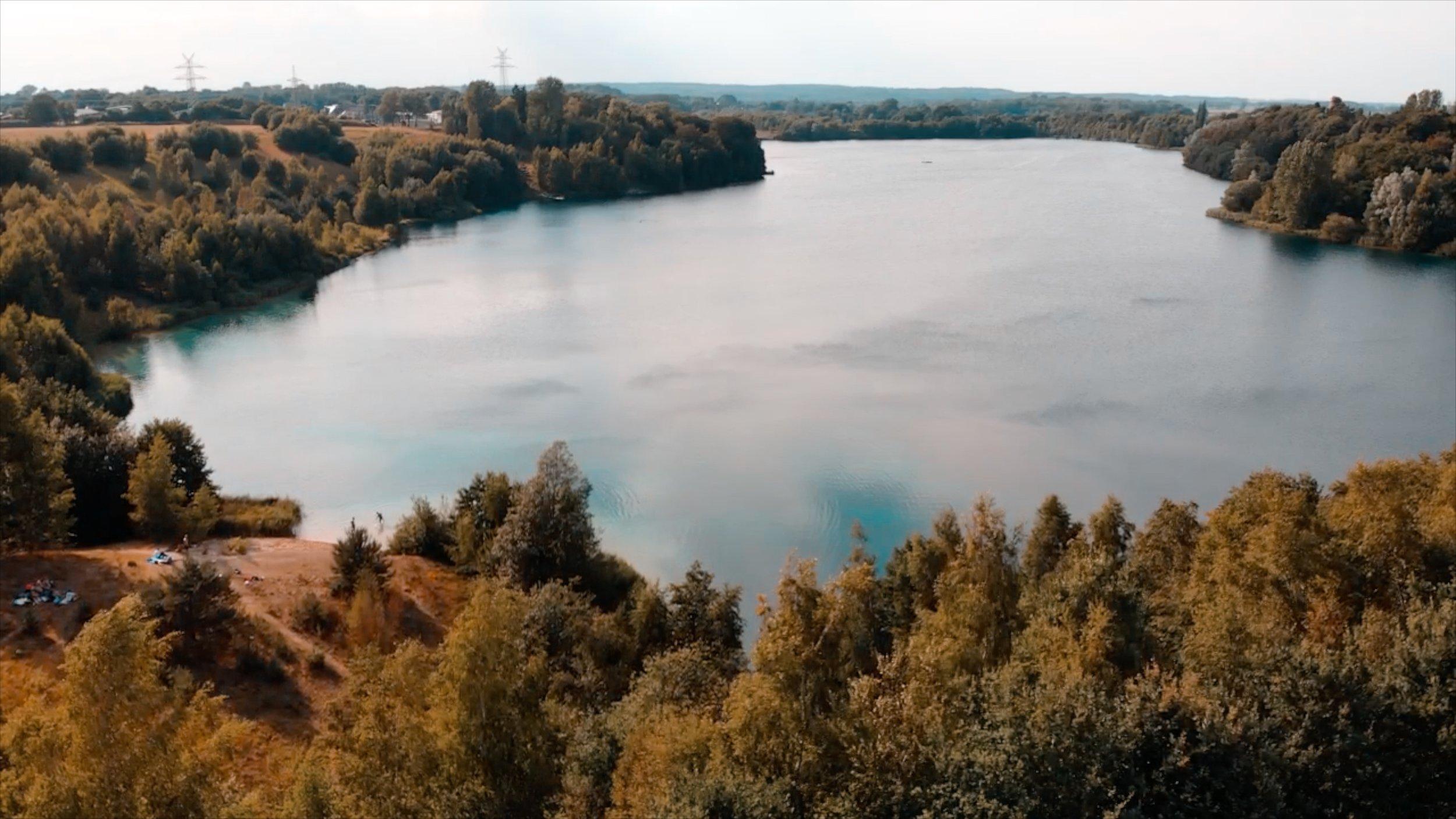 Lake Kreidesee in Hemmoor, beautiful lake right next to where I am from.