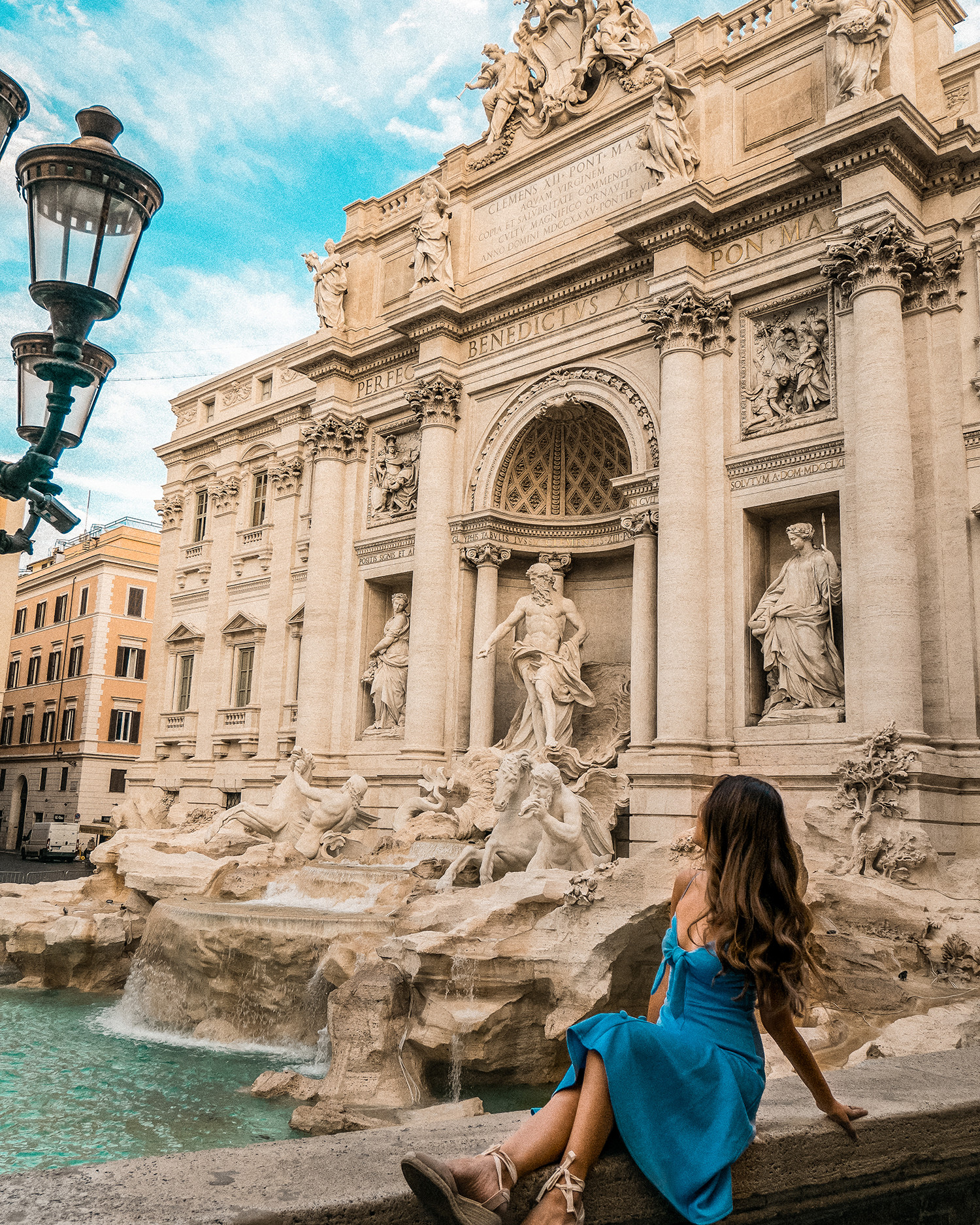 Thinking about how beautiful the Trevi Fountain is