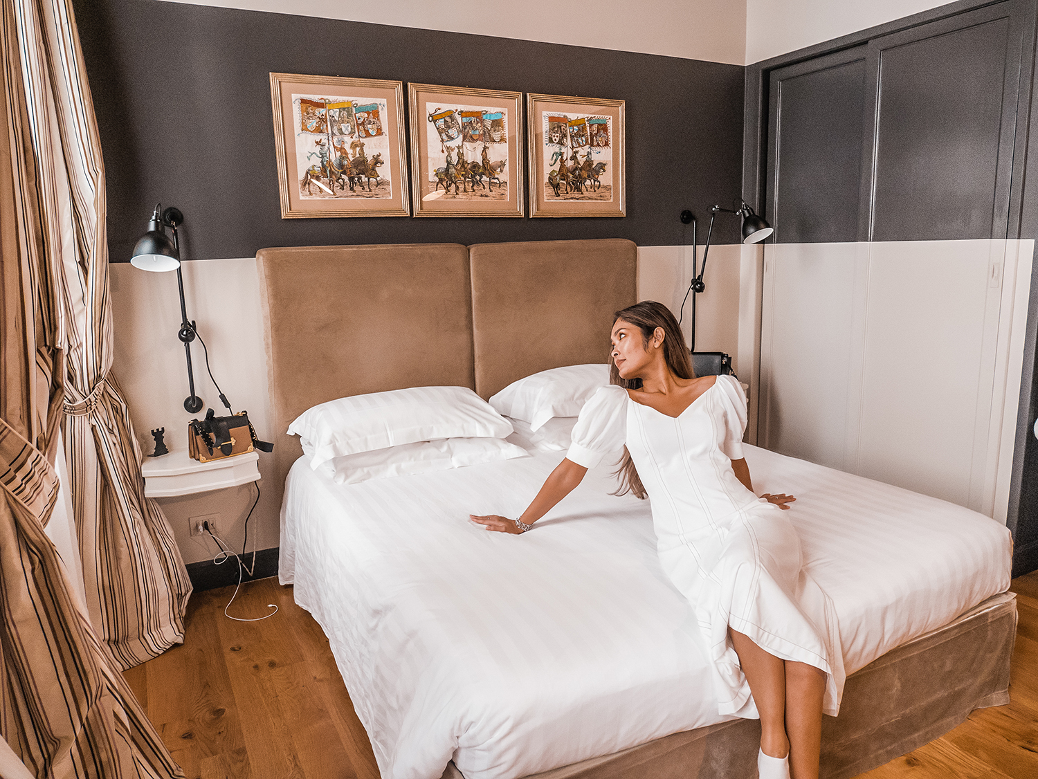 The most comfortable bed at Crossing Condotti (Rome)