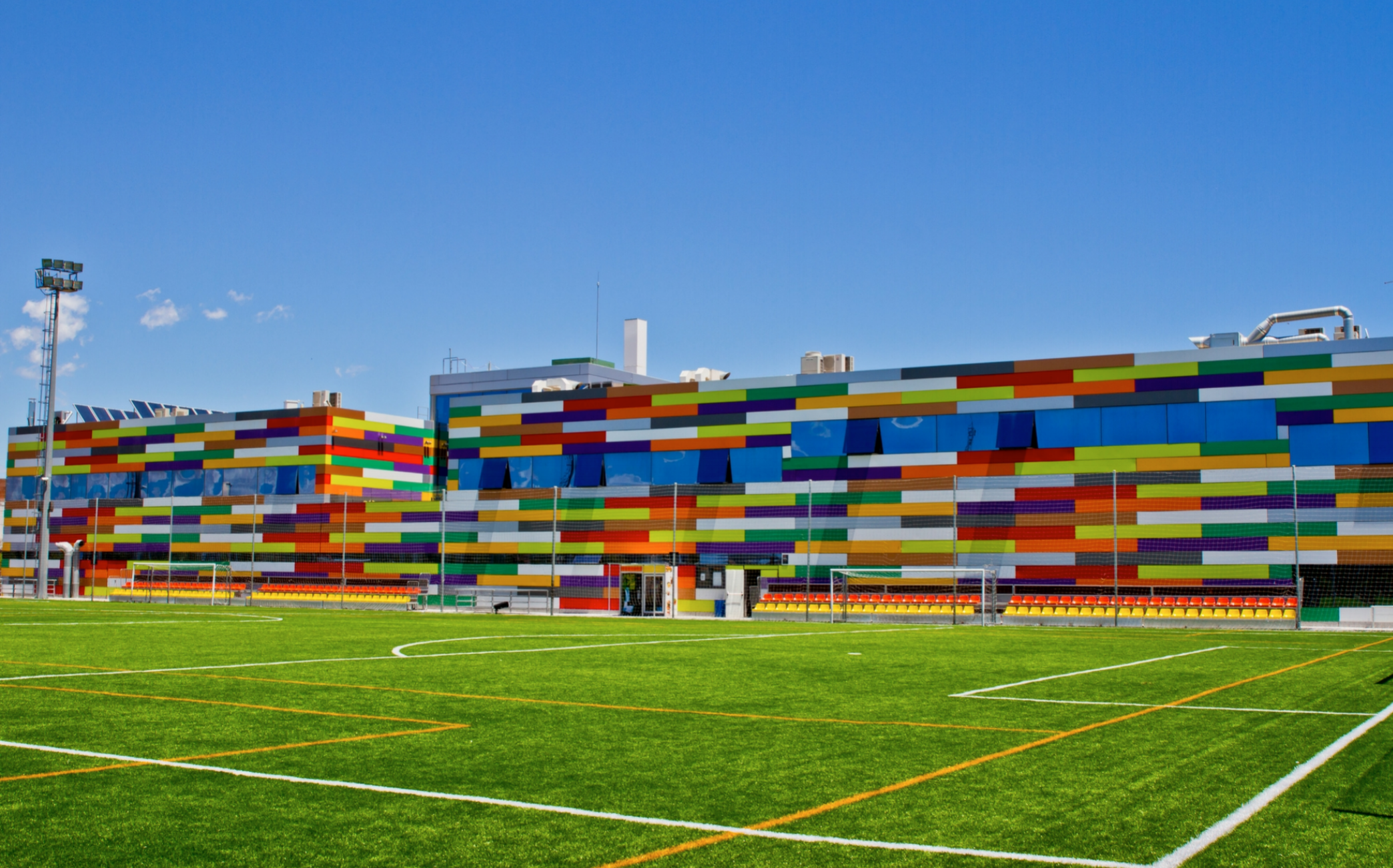 The Soccer Smart Academy Training Pitch