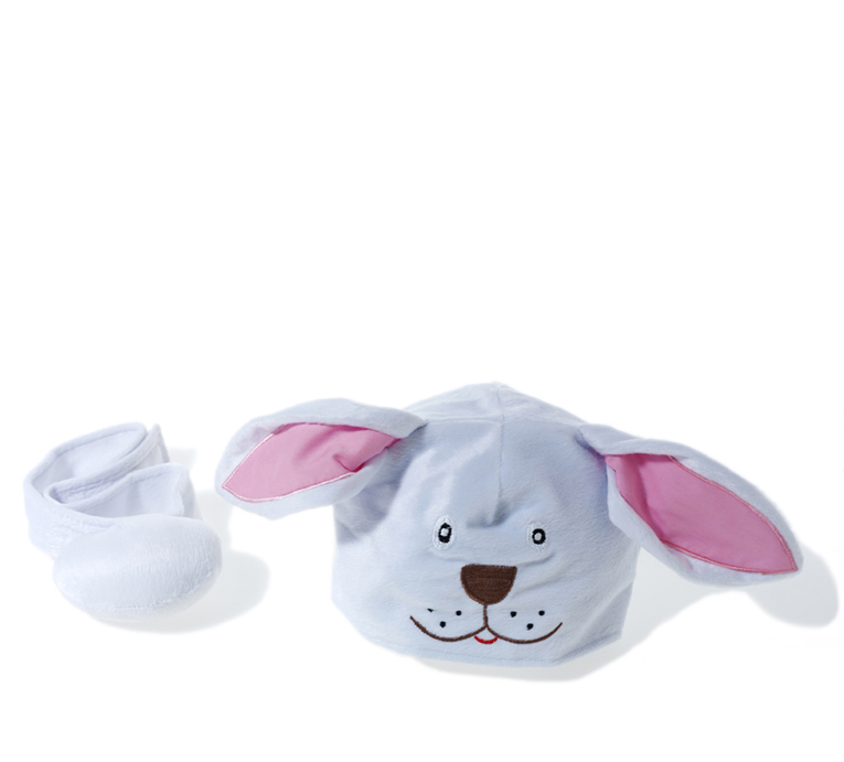 Animal hat and tail - Bunny