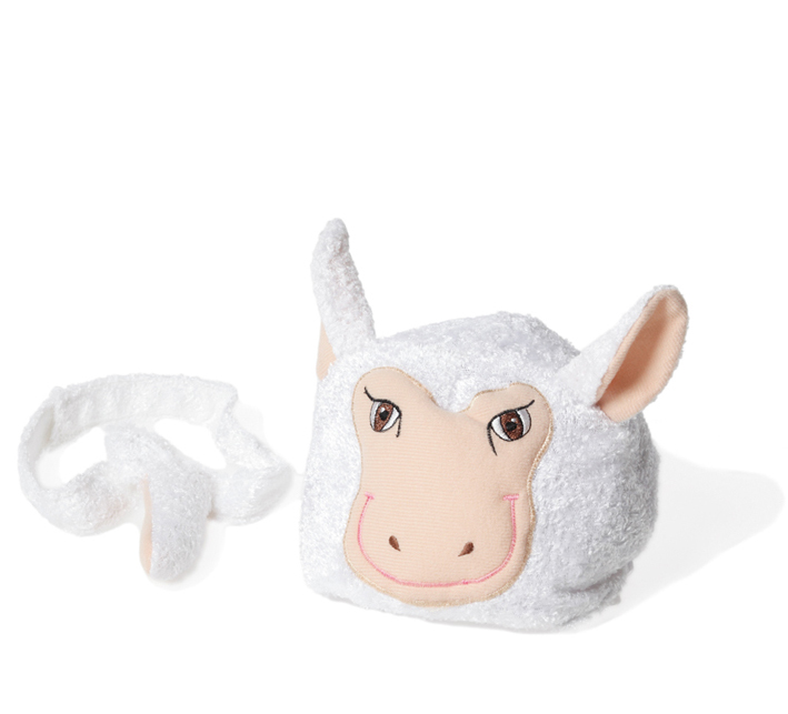 Animal hat and tail - Lamb