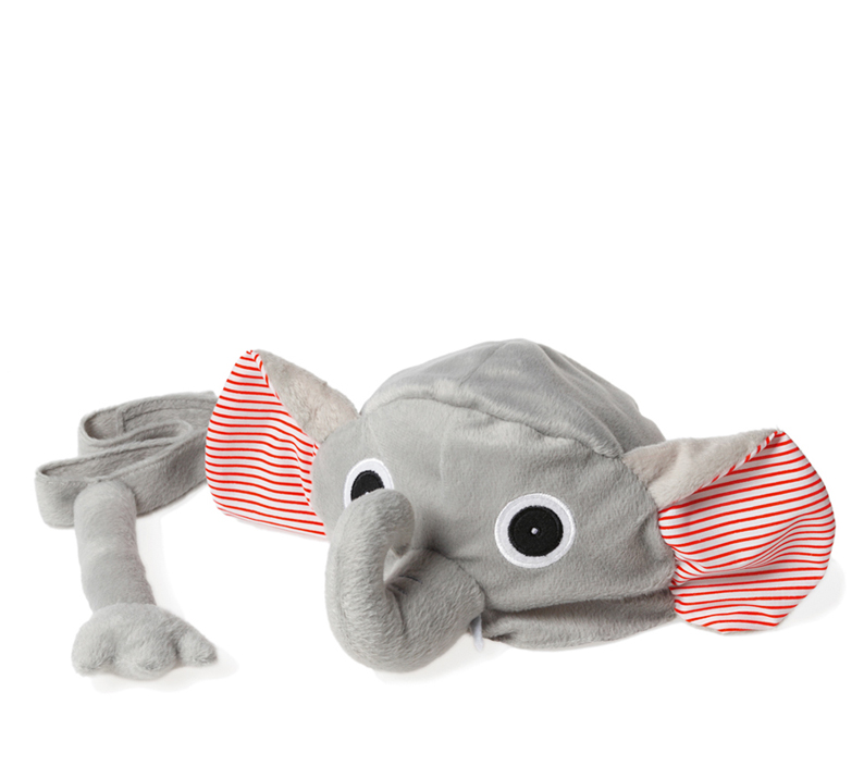 Animal hat and tail - Elephant