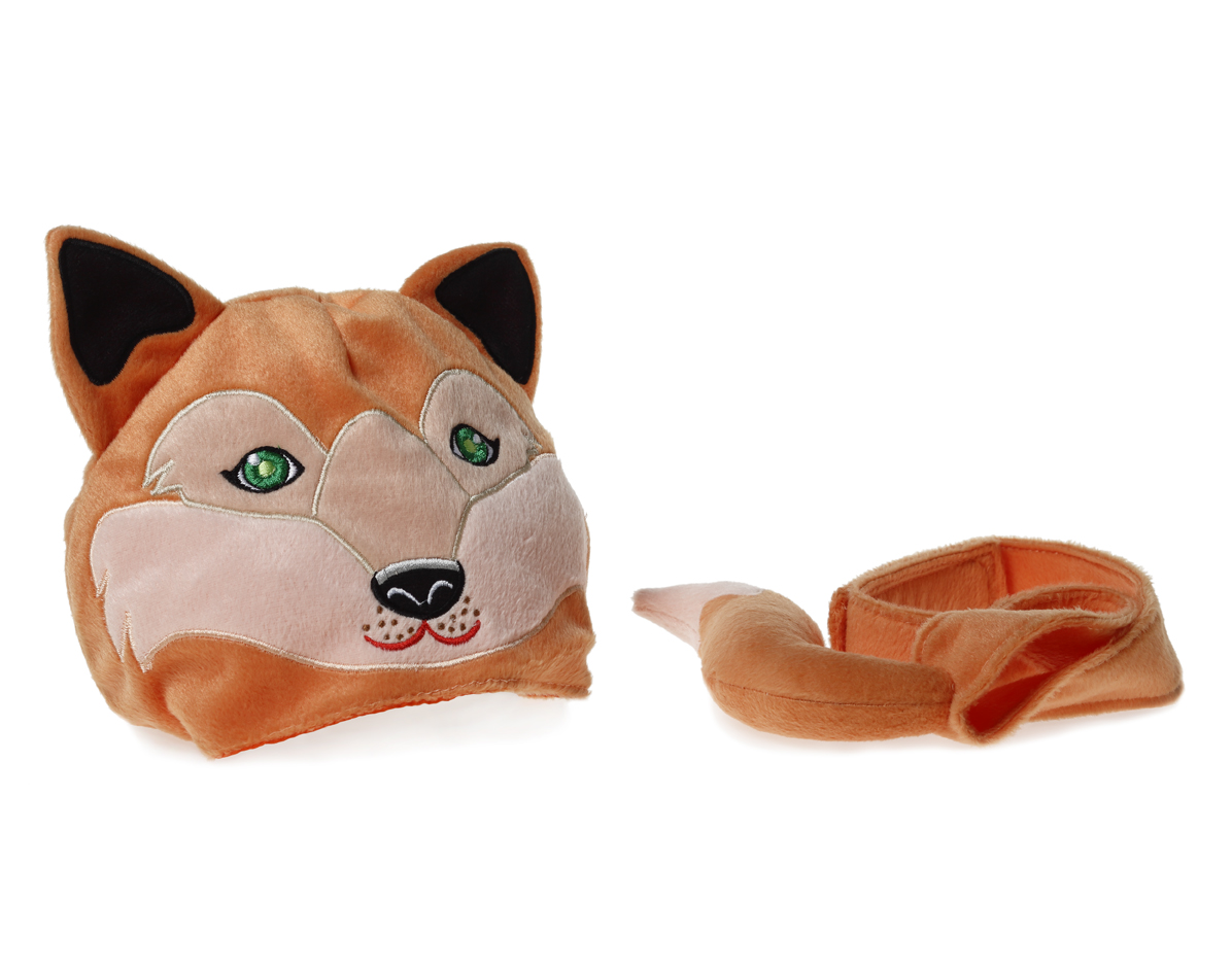 Animal hat and tail - Fox