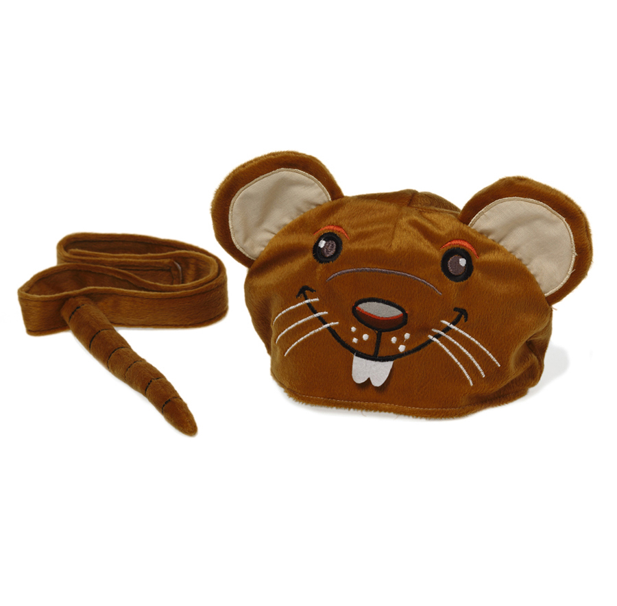 Animal hat and tail - Rat