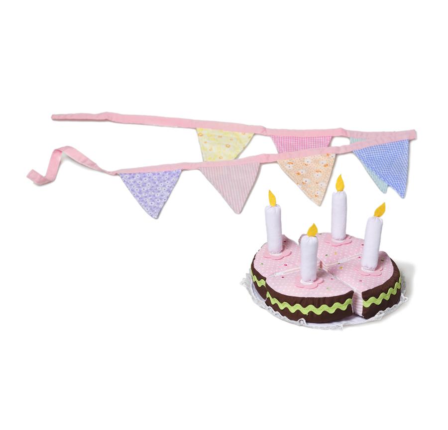 Birthday Cake and Bunting