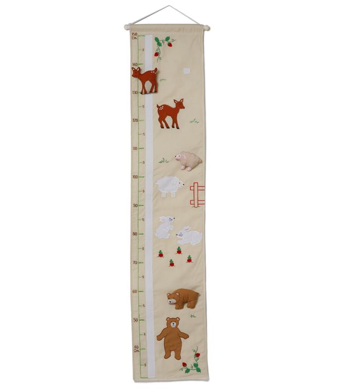 Height Chart, Forest Friends