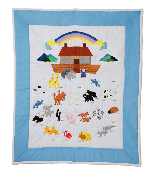 Baby Quilt, Noah's Ark