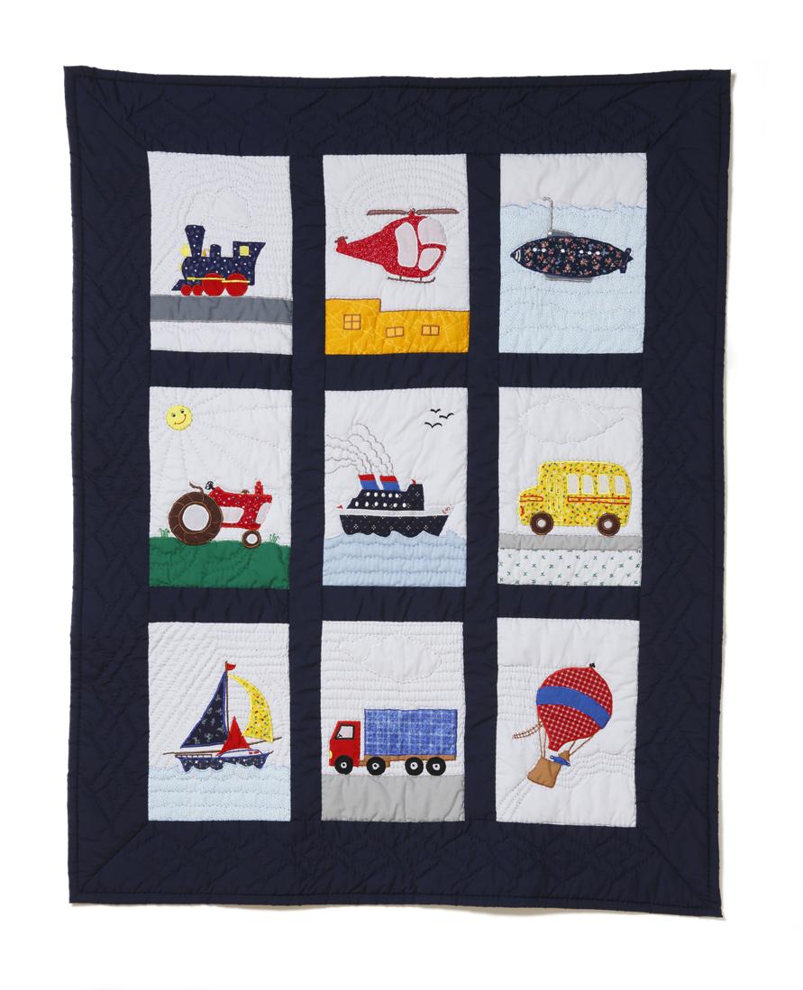 Baby Quilt, Transportations