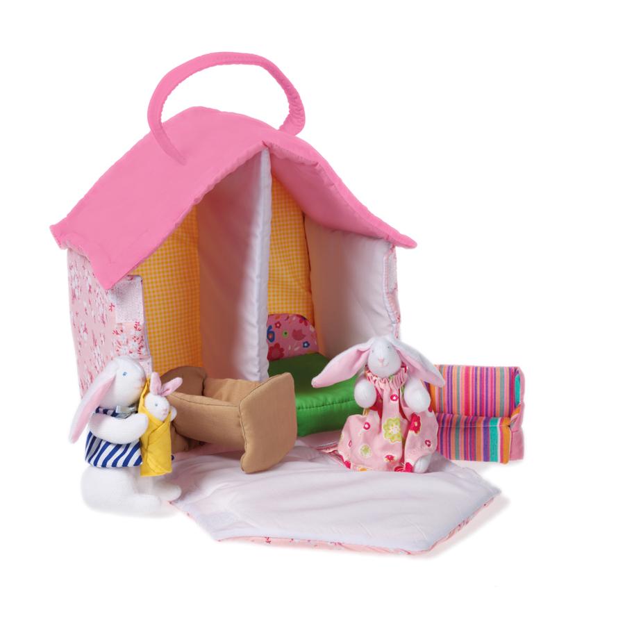 Doll House with Bunnies