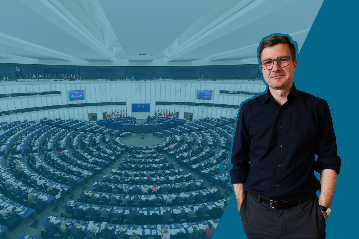 """das europäische parlament - """"Hier werden Schicksalsfragen verhandelt"""" – Ein Gespräch mit Stefan Leifert, ZDF-Korrespondent, Brüssel"""