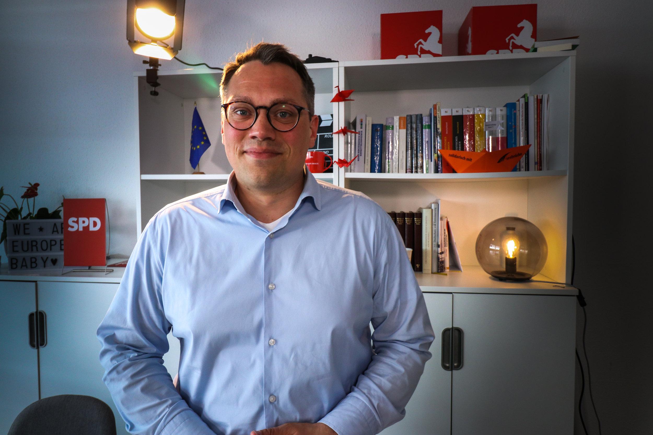 """""""Ich will die vereinigten staaten von europa"""" - Tiemo Wölken, SPD"""