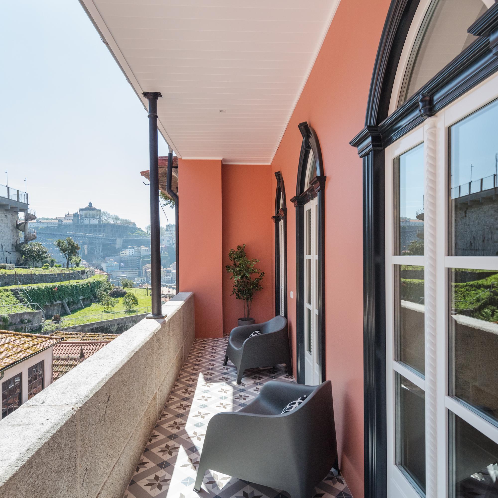 Apartamento férias Ribeira com varanda