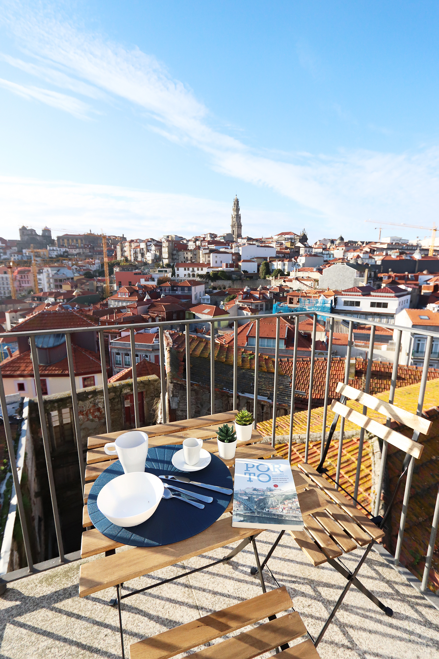 Apartment with terrace in Porto's downtown