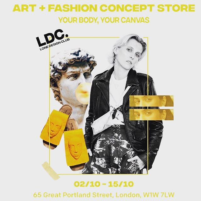 We are partnering with @lonedesignclub in their next concept store alongside Frieze Art Fair!! Over the next 2 weeks they will be hosting events, workshops and talks exploring art and fashion #yourbodyyourcanvas  9th- 15th October @i.n.d.o.i will be there with our collection.  Visit the store and meet the designers behind these brilliant brands!! Store Event // https://www.eventbrite.com/e/frieze-its-fashion-lone-design-clubs-concept-store-exhibitions-tickets-71292570999  Opening Night // https://www.eventbrite.com/e/frieze-its-fashion-lone-design-clubs-exhibition-opening-tickets-71411241947  Closing Night // https://www.eventbrite.com/e/the-part-ii-celebration-lone-design-clubs-frieze-tickets-73850437647 ⠀⠀ #londonpopupshop #londonpopup #sustainablefashionpopup #ethicalfashionpopup #ethicalbrands #ethicalfashion #consciousfashion #responsiblefashion #slowfashion #ecofashion #ethicalclothing #emergingfashiondesigner #emergingfashionbrand #LoneDesignClub #Theantidotetofastfashion #LDCstrongertogether #friezelondon #friezeartfair #lonedesignclub #Theantidotetofastfashion #LDCstrongertogether #LFWXGreatPortlandStreet #yourbodyyourcanvas
