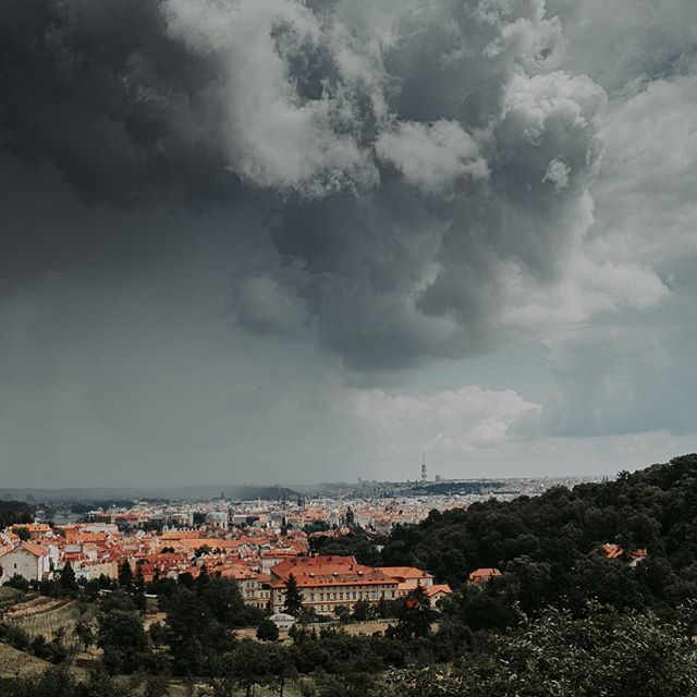 Incoming storm over Prague • • • • • #folkcreative #photocinematica #MoodyGrams #visualambassadors #exklusive_shot #thecreative #fujifilmfeaturetime #storm #peoplescreatives #sombresociety #royalsnappingartists #cinefiles #sombrescapes #eyeem #quietthechaos #main_vision #Soft_Vision #eyeemoninstagram #praguetoday #vzcomood #moody #thinkverylittle #cityscape #citystreets #shadowandlight #praguetravel #moody #prag #fujifeed #myfujifilm #fujixclub