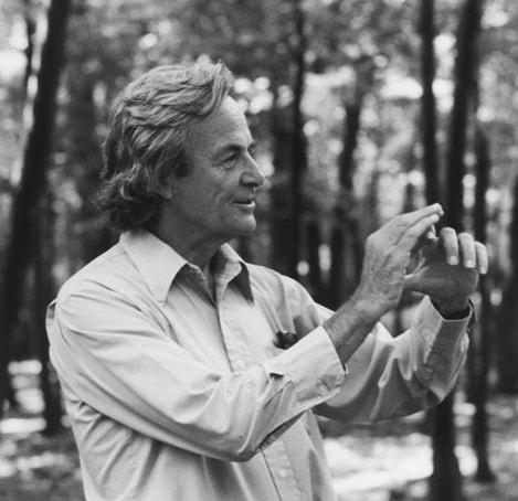 Richard Feynman en 1984*
