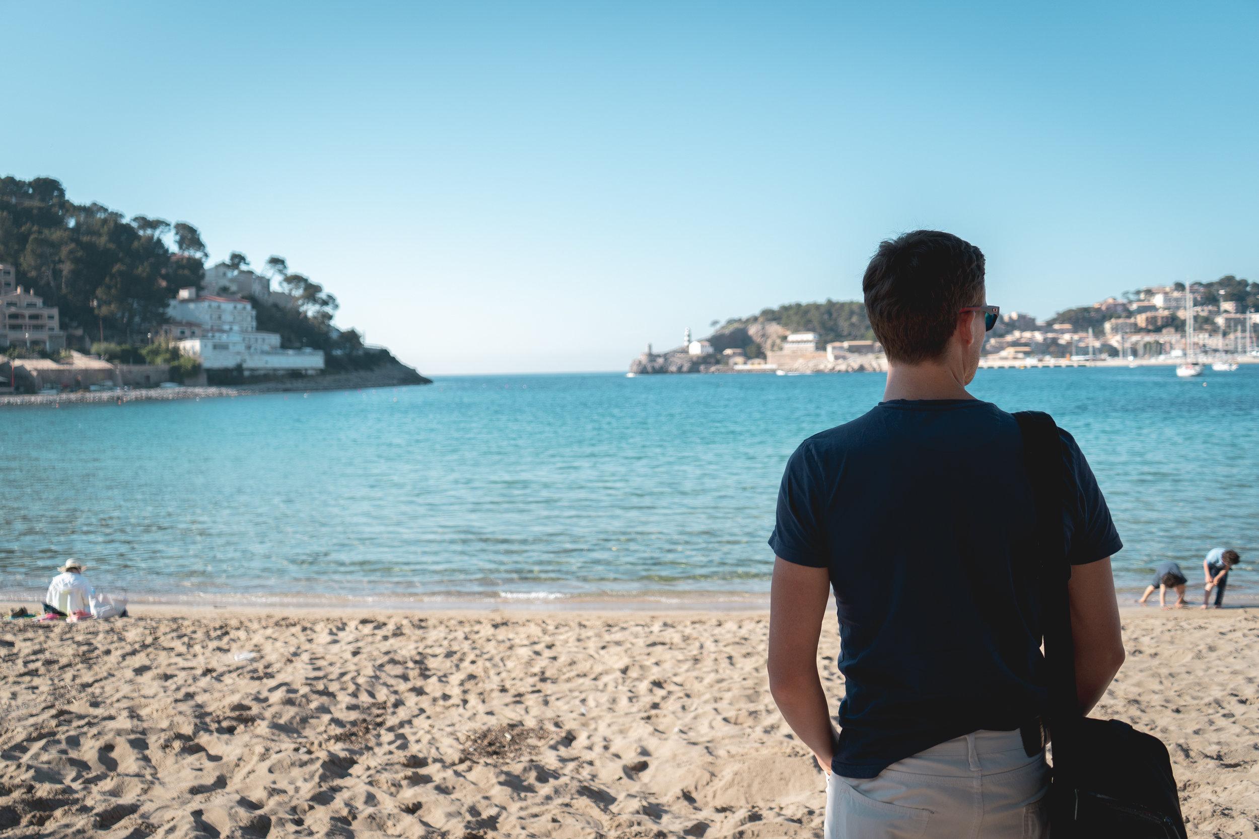 Här kan man vara när man återhämtar sig… Puerto de Sóller på Mallorca.