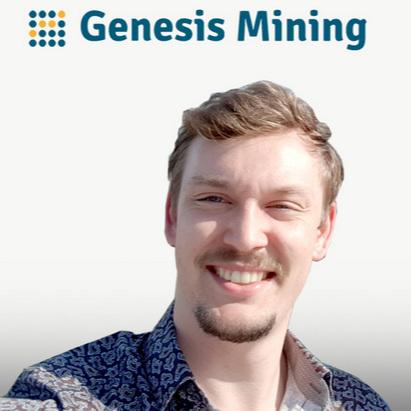Philip Salter, Heading of Operations at Genesis Mining -