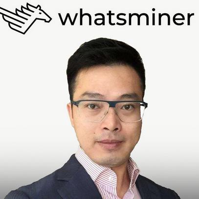 Vincent Zhang, Sales Director of Whatsminer -