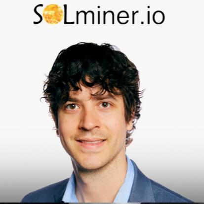 Jeremy Segal, CEO of SolMiner -