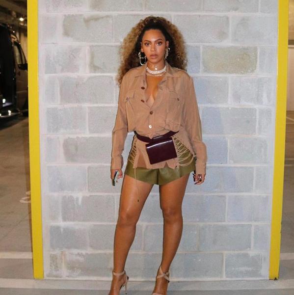 Beyoncé wears ASHYA at Made in America 2019
