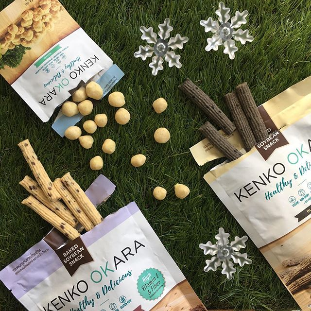 • Happy Monday! ❄️ Start your first week of #December with healthy eating 😋 #GetKenko #HappySnacking • Always baked, never fried. Gluten-free, dairy-free, vegan, and totally delicious! 💛