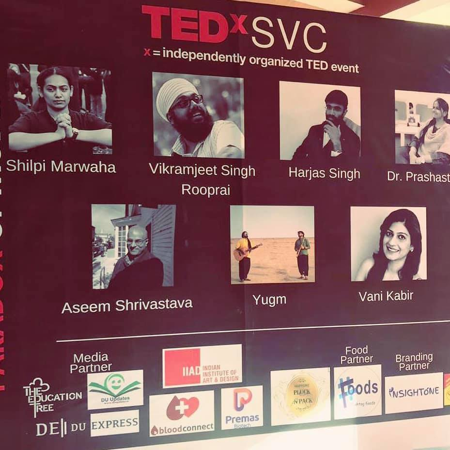 So wonderful to see yourself on a hoarding! #tedxsvc