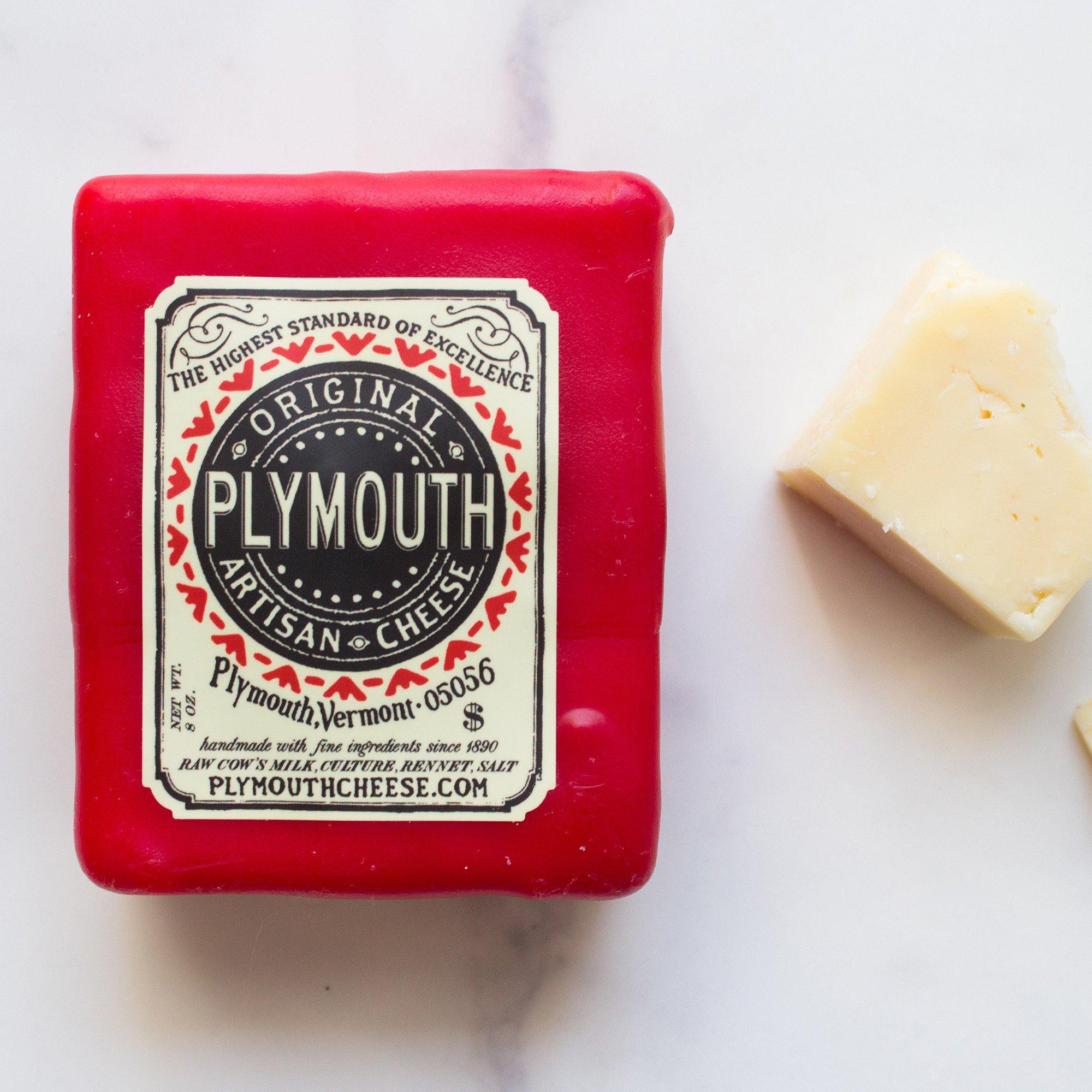 Cheddar Cheese  Plymouth Artisan Cheese
