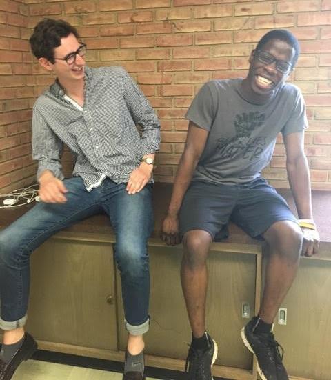 Austin Lamewona and Nick Witzeman