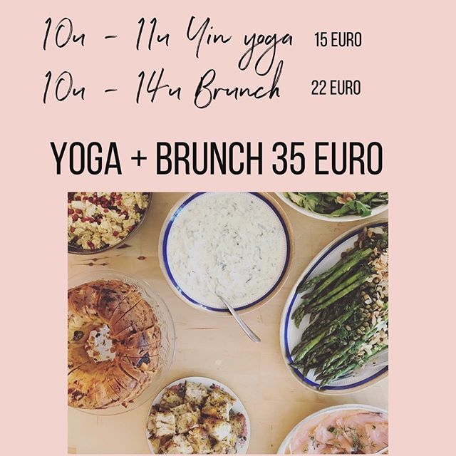 06 oktober brunchen @koffiekorneel. Doe je graag eerst yoga en erna van brunch? Of enkel brunch of yoga met @lyss.be. Prijzen kan je 🔝 vinden. Inschrijven via anne@koffiekorneel.be #brunch #ontbijt #yinyoga #sunday #hoboken #coffee