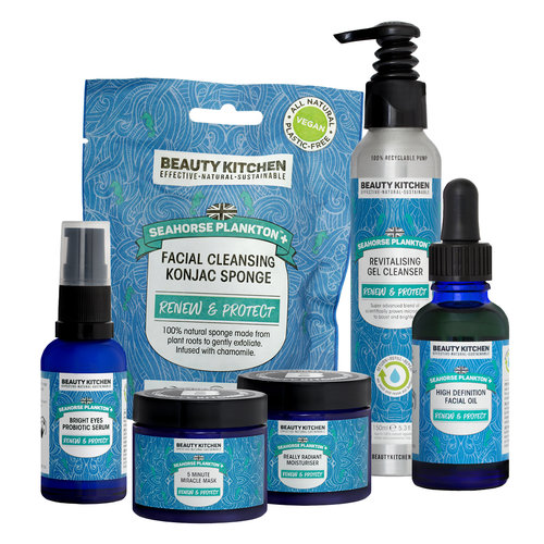 If they're all about effective skincare - Give them Seahorse Plankton+ 5 Step Renew & Protect Set