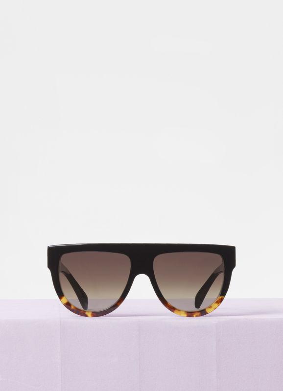 CELINE- CL4001F Sunglasses  £290  COLOUR Black Tortoise  CATEGORY SUN  MATERIAL Acetate  SHAPE Square