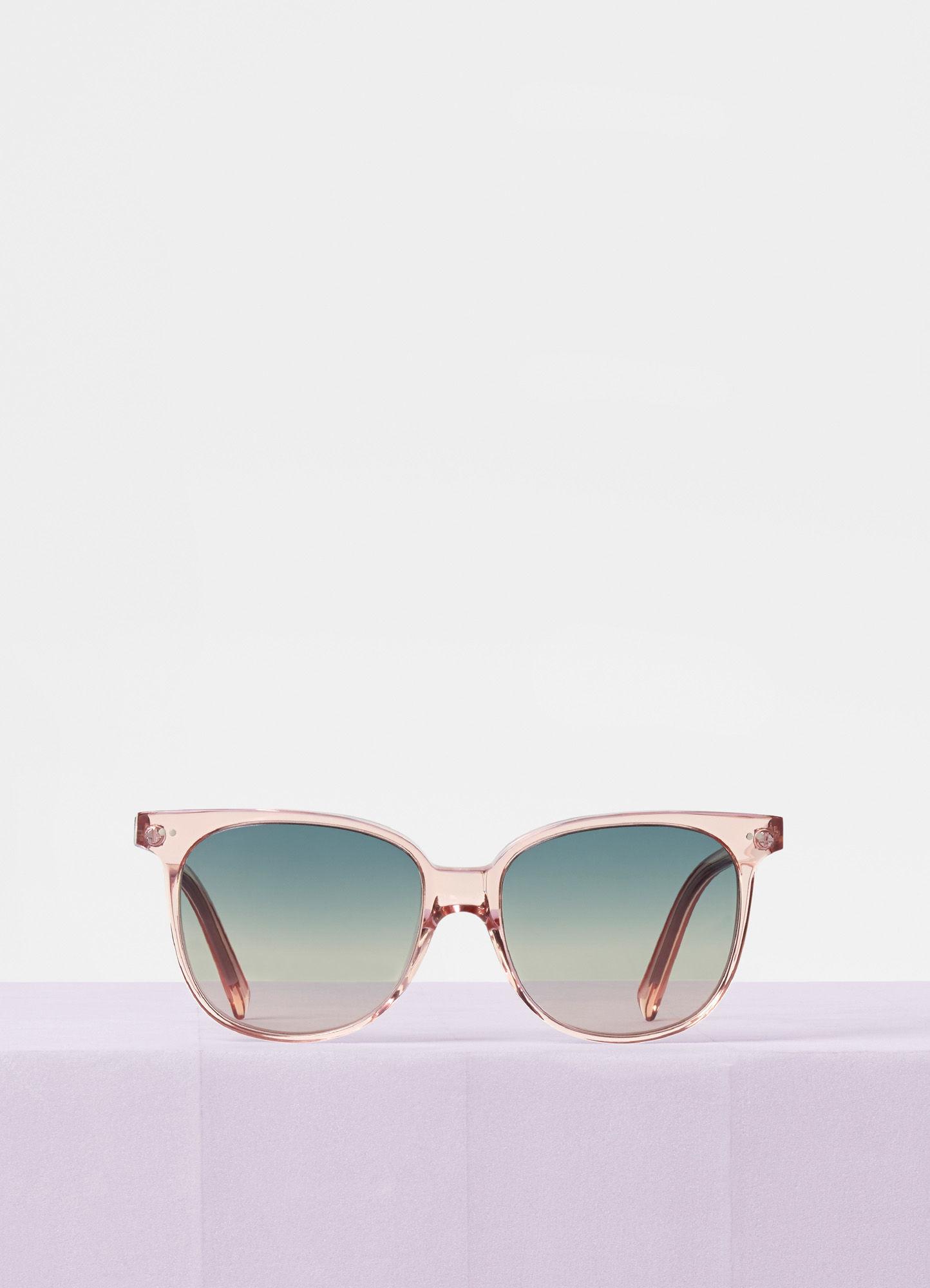 CELINE- CL400221 Sunglasses  £250 (Sold out)  COLOUR: Transparent Pink  CATEGORY SUN  MATERIAL Acetate  SHAPE Oversized