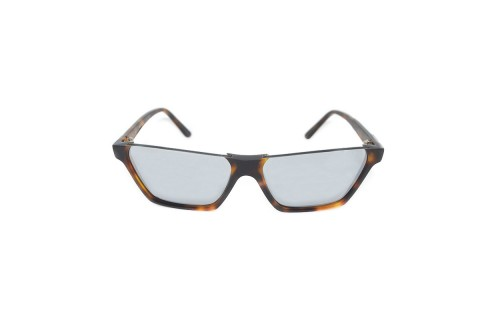 CELINE- CL40028I Sunglasses  £340  COLOUR Tortoiseshell/Mirror lens  CATEGORY SUN  MATERIAL Combination  SHAPE Rectangular