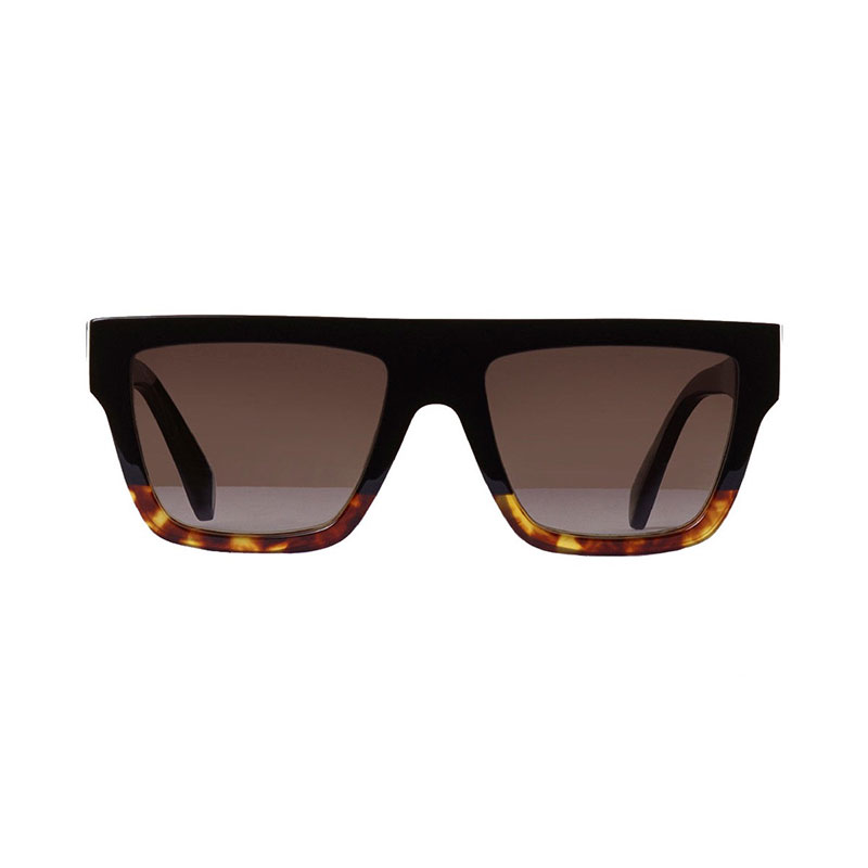 CELINE- CL40013I Sunglasses  £290 (Sold out)  COLOUR Black/Other/Gradient Brown Lenses  CATEGORY SUN  MATERIAL Acetate  SHAPE Square