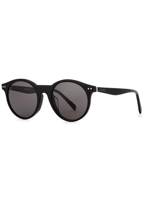 CELINE- CL400221 Sunglasses  £250  COLOUR: Black  CATEGORY SUN  MATERIAL Acetate  SHAPE Oversized
