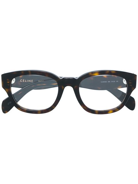 CELINE- CL50006I Optical  £270 (Sold out)  COLOUR Tortoise  CATEGORY Opticals  MATERIAL Acetate  SHAPE Square