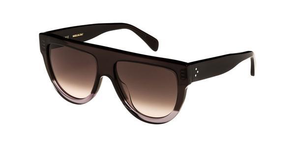 CELINE - CL40001F Sunglasses  £290  COLOUR Black/Grey Gradient  CATEGORY SUN  MATERIAL Acetate  SHAPE Square