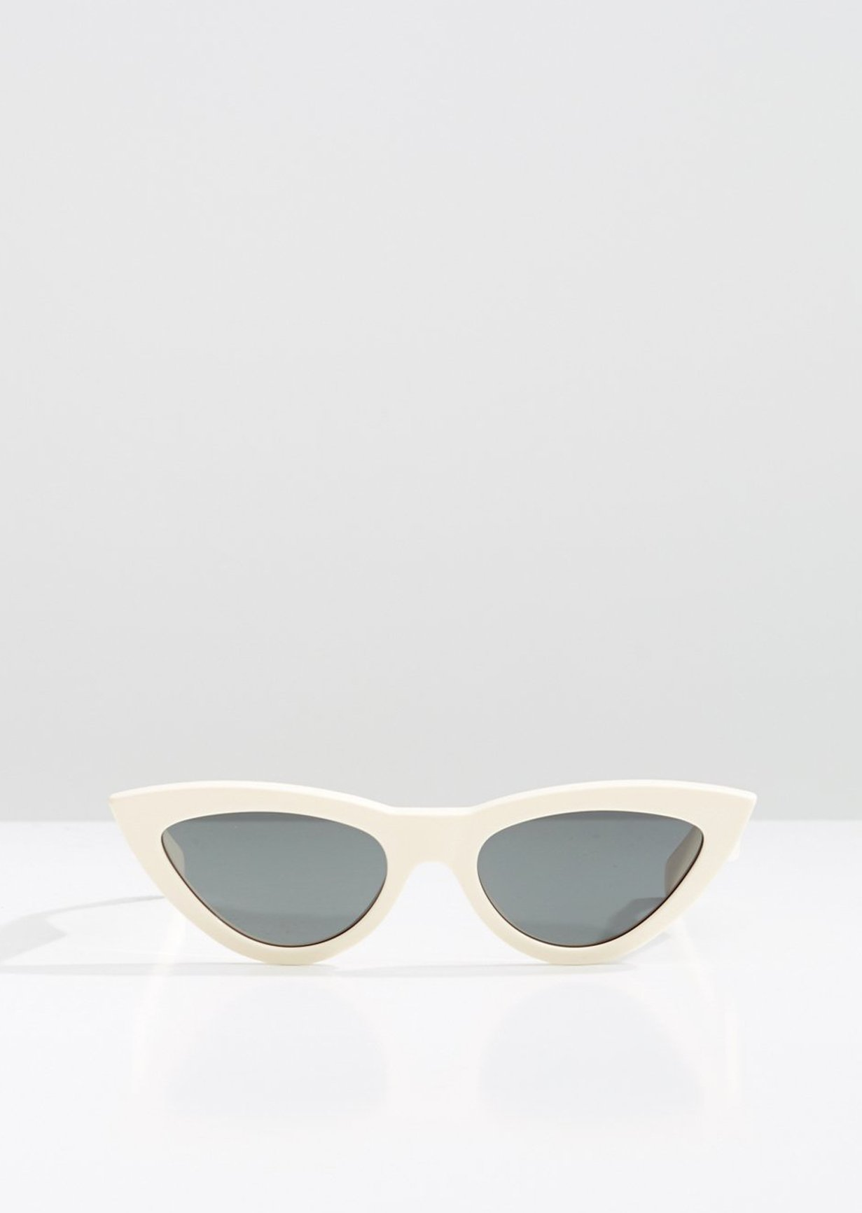 CELINE - CL40019I Sunglasses  £290 (Sold Out)  COLOUR White  CATEGORY SUN  MATERIAL Acetate  SHAPE Cat Eye