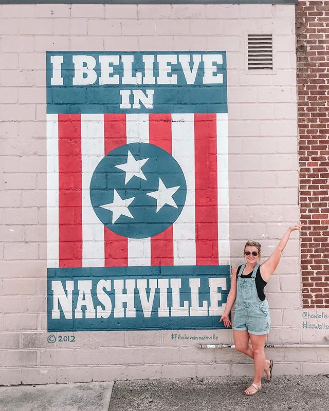 12South 🔆 one of my favorite areas in Nashville. Walkable boutiques, Instagramable wall art, local bites and pints, about a half dozen coffee shops (because you can't get coffee) and of course plenty of sweet treats and bakeries 🧁🍦 • • What do you stop at first when you're in a new town? Coffee shop? Wine bar? Mural hunting? Boutiques and shops? 💛 • • #explorenash #nashville #nashvilletn #visitnashville #ibelieveinnashville #12southnashville